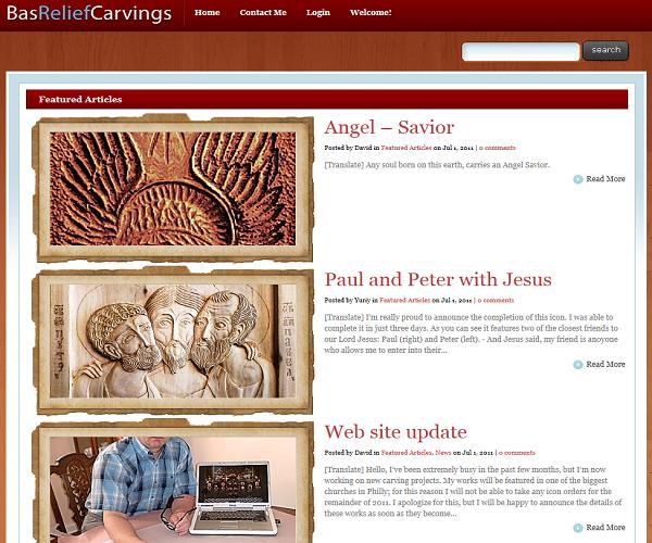 Bas Relief Carvings