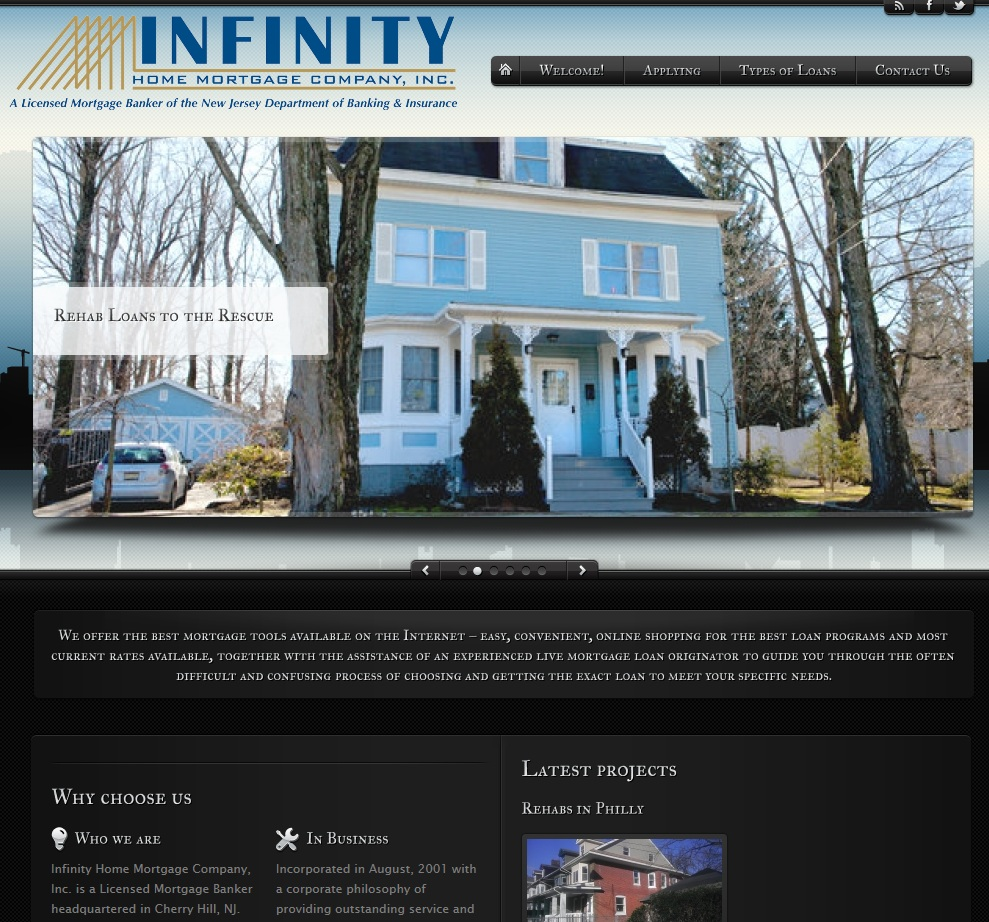 Infinity Home Mortgage v.2